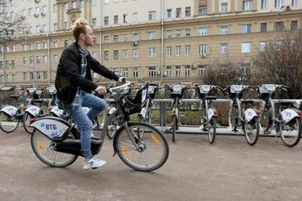 Стоимость велопроката снизилась в районе Лефортово  на 30 процентов