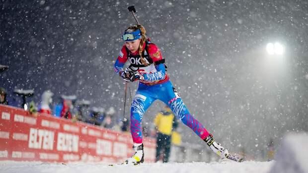 Стали известны стартовые номера российских биатлонисток в спринте на чемпионате мира в Поклюке