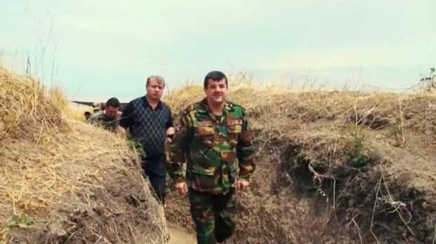 Президент Карабаха отправился воевать на передовую (+ВИДЕО) | Русская весна