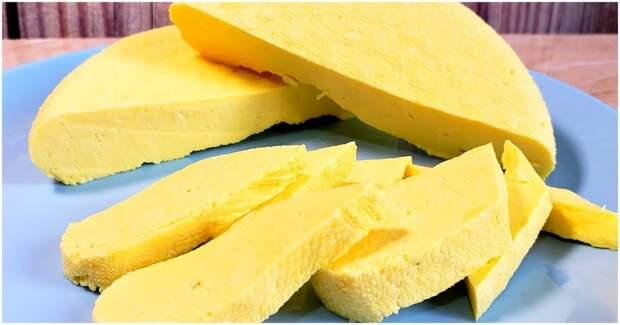 Делаем сыр круче, чем в магазине, всего за полчаса и из четырех ингредиентов