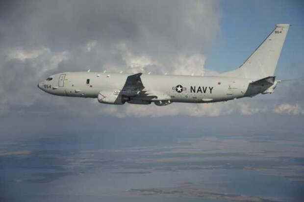 Разведывательный самолет США пролетел над базой ВМФ РФ в сирийском Тартусе