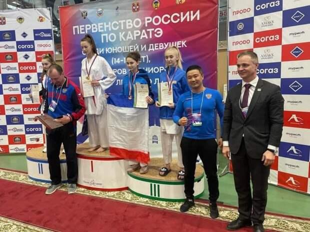 Крымская каратистка выиграла «бронзу» в Омске