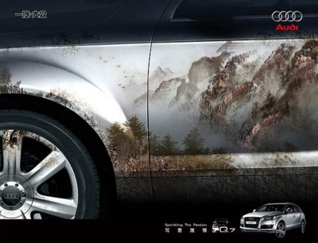 Оригинальные рекламные постеры автомобилей