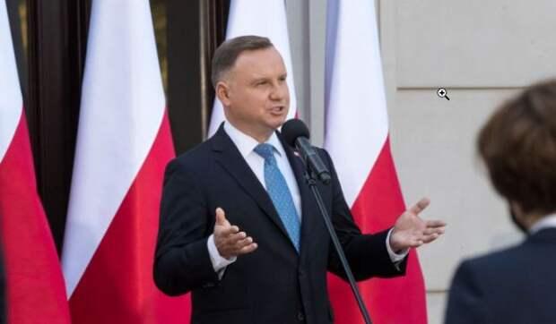 Kresy.pl: Президент Польши уважил солдат Украины бандеровским приветствием