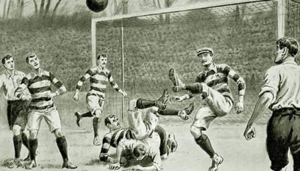 Молниеносный Фред Спиксли — первая легенда британского футбола