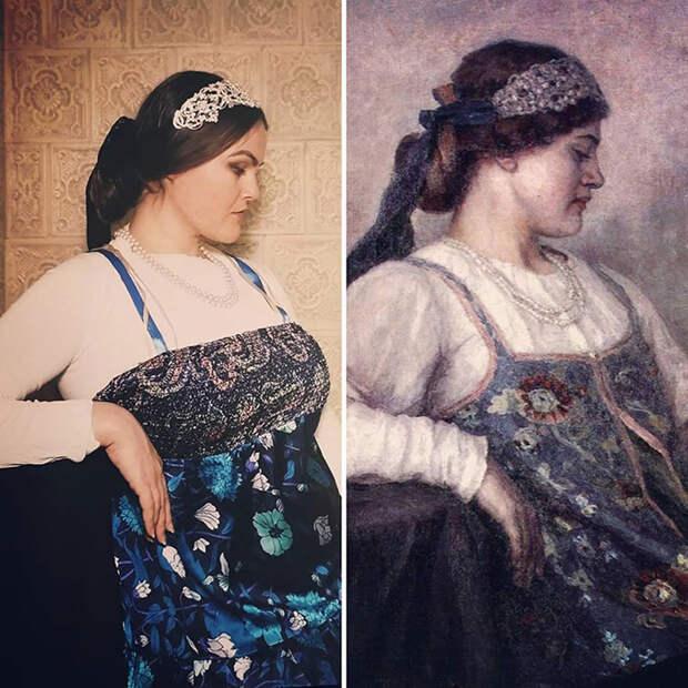 Василий Суриков. Портрет Натальи Федоровны Матвеевой, 1909.