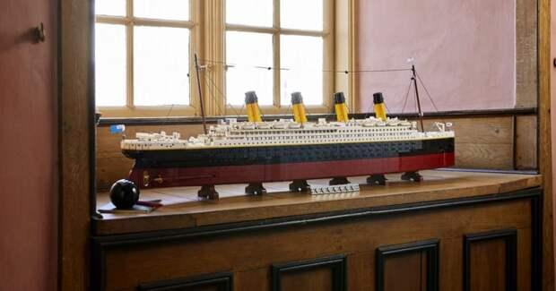 Один из самых больших наборов: Каким будет «Титаник» из LEGO, который выпустят к 110-летию корабля