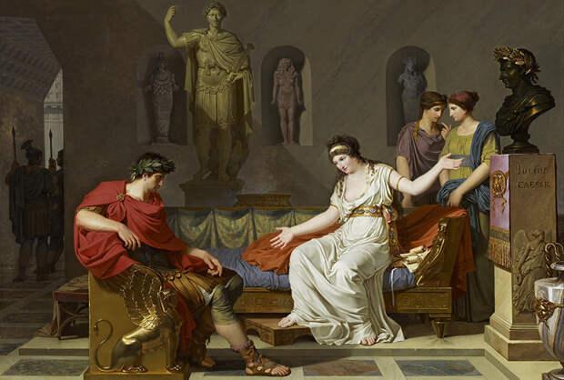 Октавиан и Клеопатра