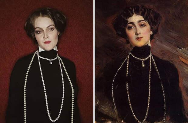 Джованни Больдини. Портрет Лины Кавальери, 1901.