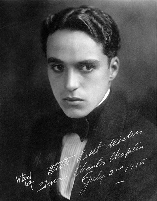 Чарли Чаплин. (фото 1915 года).