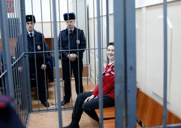 Савченко заявила, что хочет сидеть в российской тюрьме