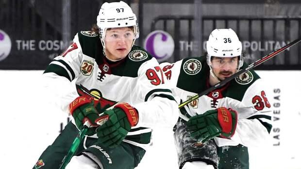 Первый в НХЛ хет-трик Капризова принес «Миннесоте» победу над «Аризоной»
