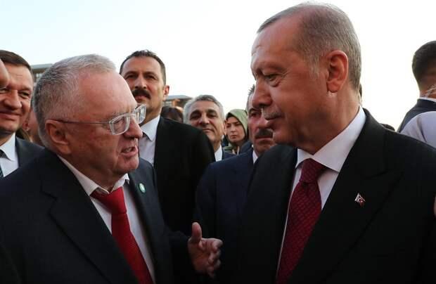 Эрдоган знает, как поставить Европу на колени – Жириновский