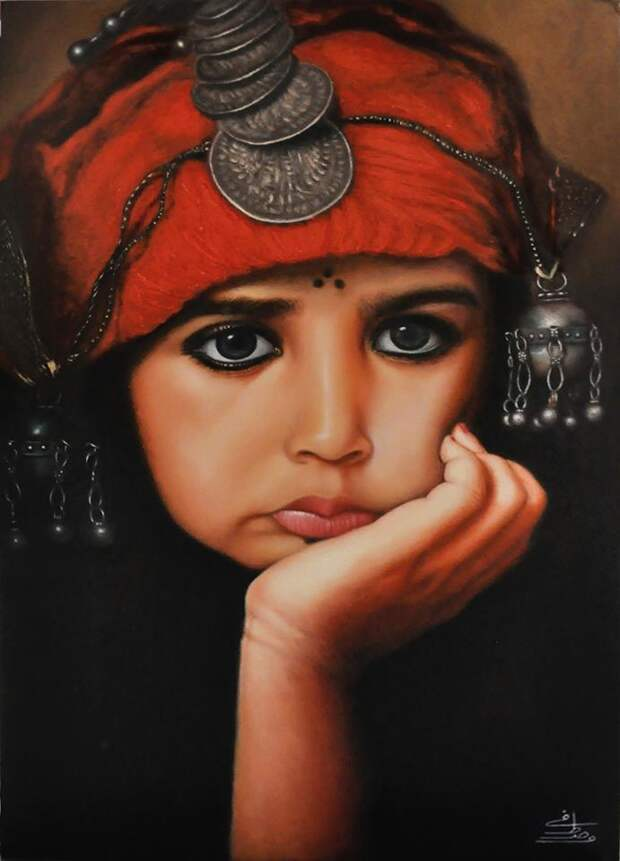 Фотореалистичные рисунки египетского художника Мостафы Ходеира