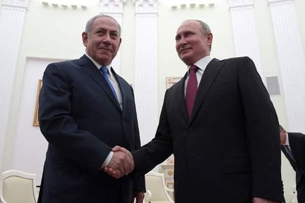 Биньямин Нетаньяху и Владимир Путин. Фото: kremlin.ru/Global Look Press/www.globallookpress.com