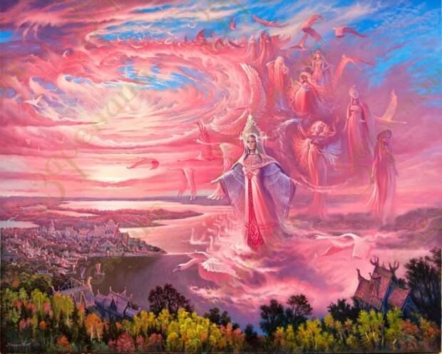 «Проснётся Русь, вспомнит своих Богов и тогда такая раскачка пойдёт по всему миру…». Фёдор Достоевский.