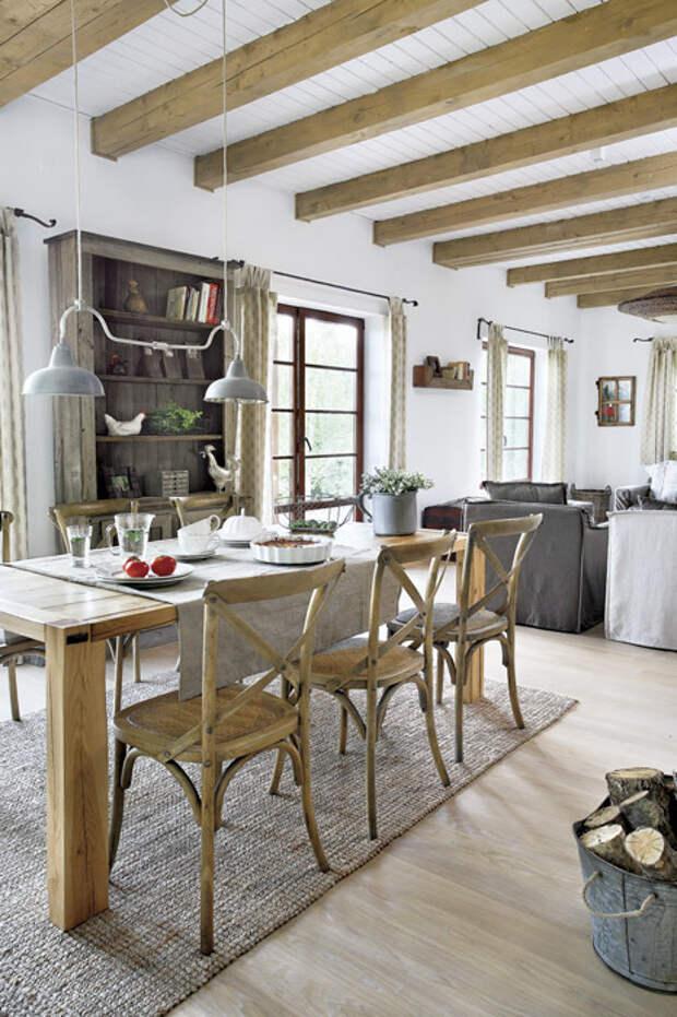 Очарование старины: дом в сельском стиле