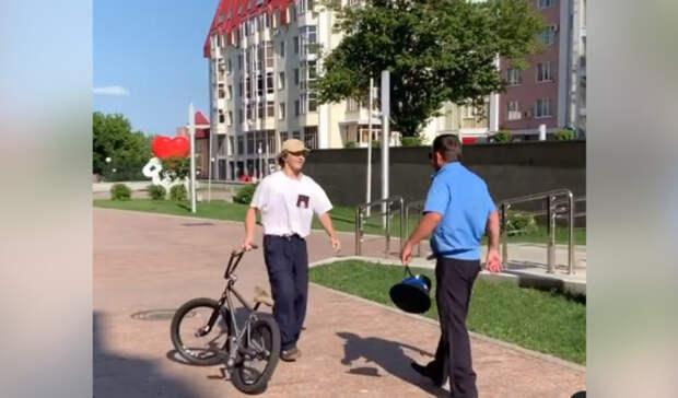 Пострадавшие от казаков велосипедисты объяснили катание в центре Ставрополя