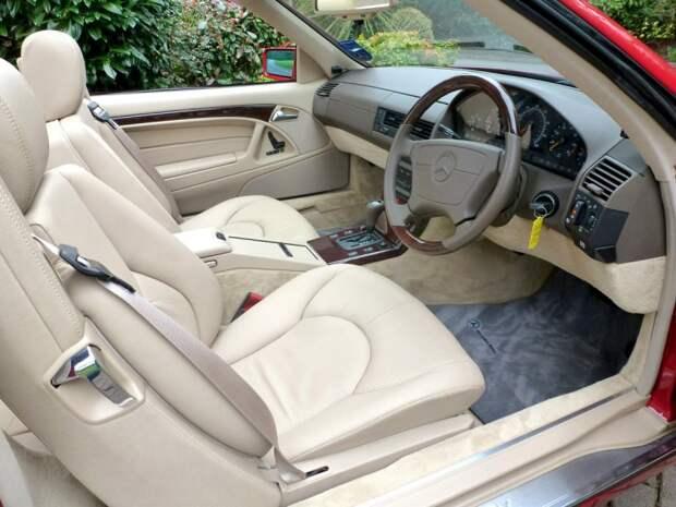 Оригинальные ключи так и не нашлись, однако продается автомобиль с новым комплектом. mercedes-benz, sl500, родстер