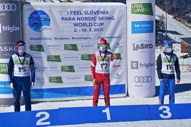 Паралимпийский чемпион из Удмуртии Владислав Лекомцев завоевал золото на Кубке мира по лыжным гонкам