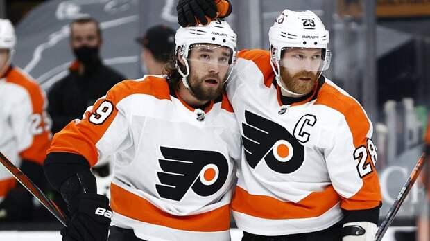«Баффало» уступил «Филадельфии» и повторил антирекорд по поражениям подряд в НХЛ, у Проворова победный гол