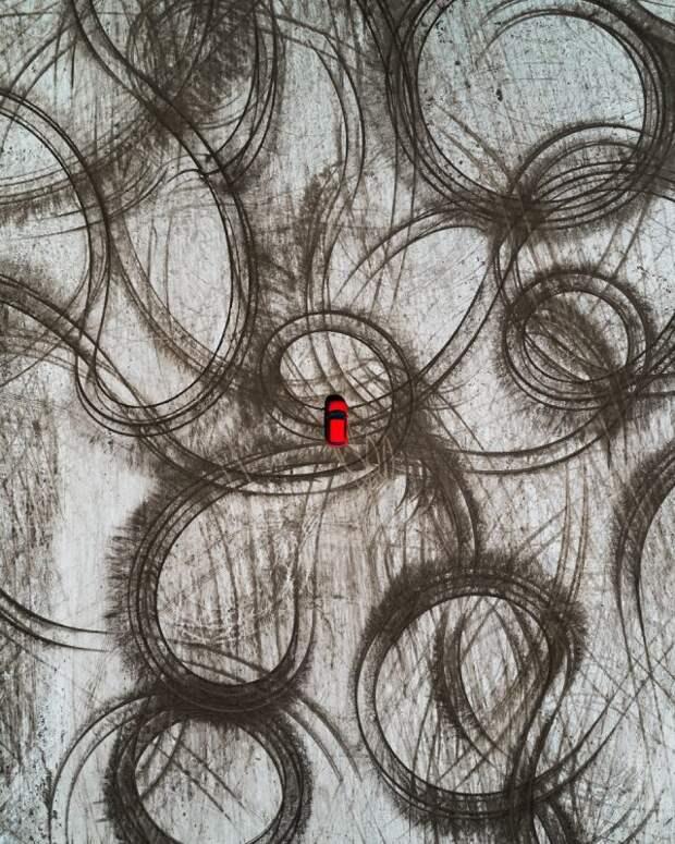 Взгляд сверху: потрясающие аэроснимки братьев Эндрюс впроекте Abstract Aerial Art
