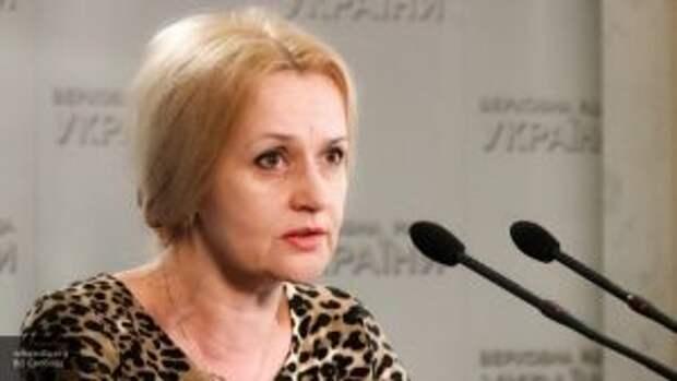 Фарион обвинила русских жителей Украины в отсоединении Донбасса и Крыма