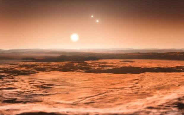 Какой климат может иметь планета с тремя солнцами?