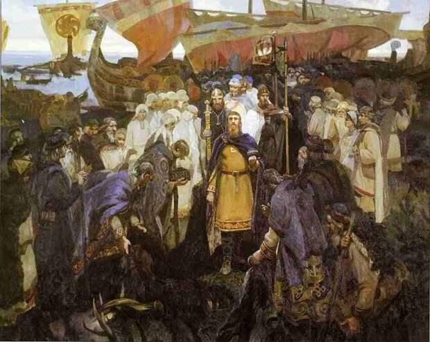 Где правил Рюрик и сколько лет Великому Новгороду?