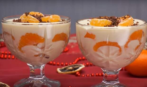 """Простейший десерт """"Мандарины в шоколаде"""""""