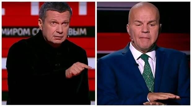 «Мне стало его жалко»: Соловьев простил украинца Ковтуна и вернул в студию