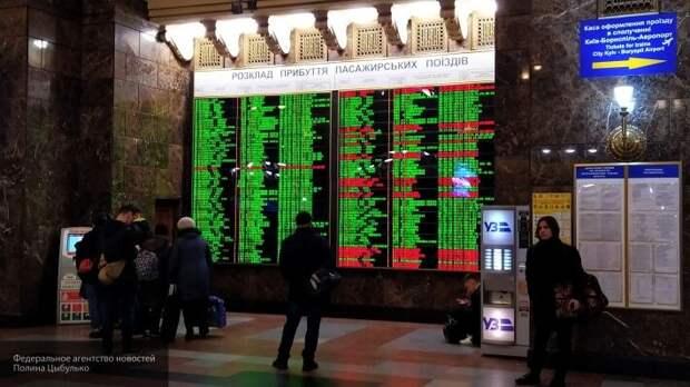 В Москву прибыл спецпоезд с эвакуированными из Украины россиянами