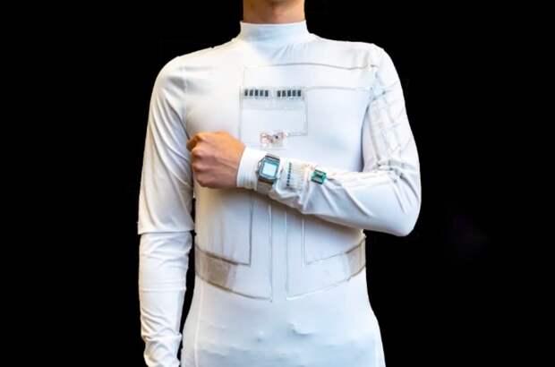 «Умная» рубашка будет создавать электроэнергию отдвижений человека