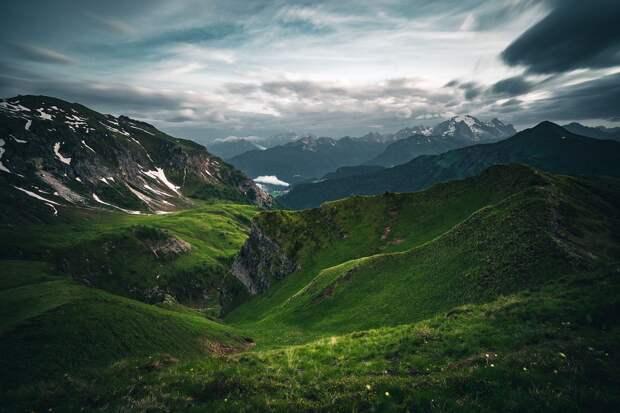 Волшебный свет в горах