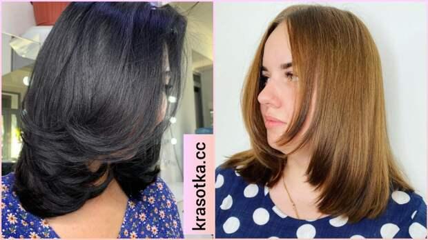 Лесенка на средние волосы: характерные черты и 11 шикарных разновидностей