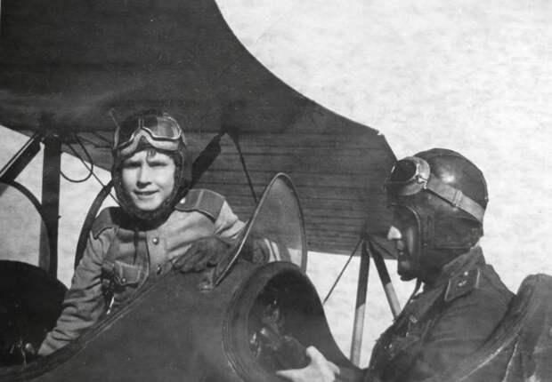 Самый молодой лётчик Великой Отечественной