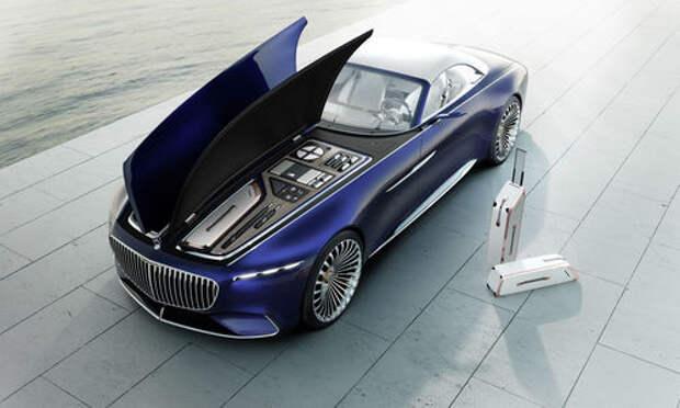 Пикник под капотом: представлен кабриолет Mercedes-Maybach Vision 6