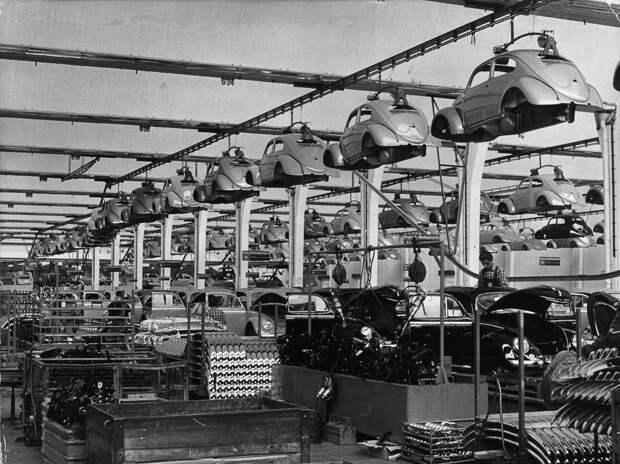 Как делали послевоенные «Жуки»
