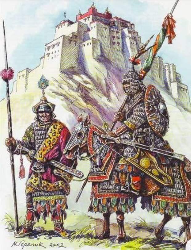 На монгольской границе. Империя Си Ся