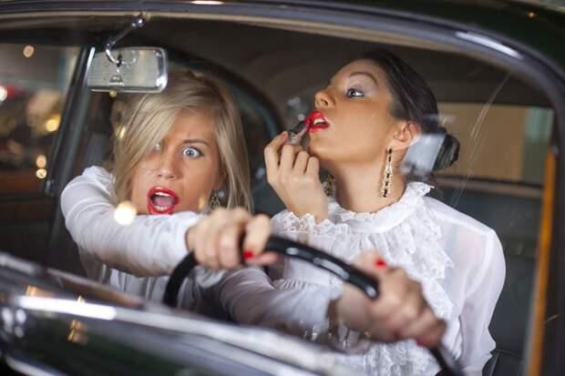 Классификация водителейили записи бывалого шофера авария, водитель, девушка