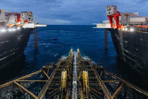 """""""Северный поток-2"""" построен уже на 95%, осталось уложить 121 км - оператор проекта"""