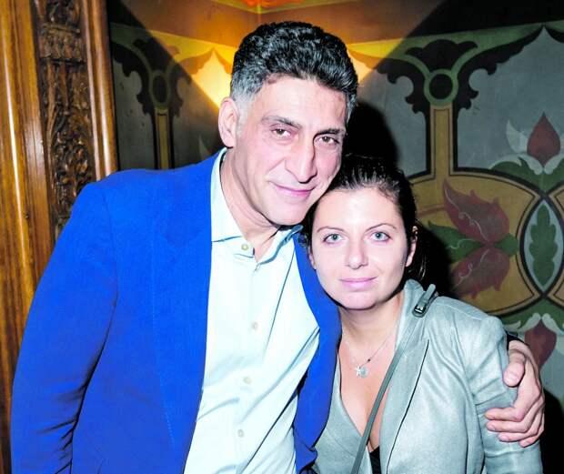 Тигран Кеосаян и Маргарита Симоньян рассказали о том, с чего начался их роман
