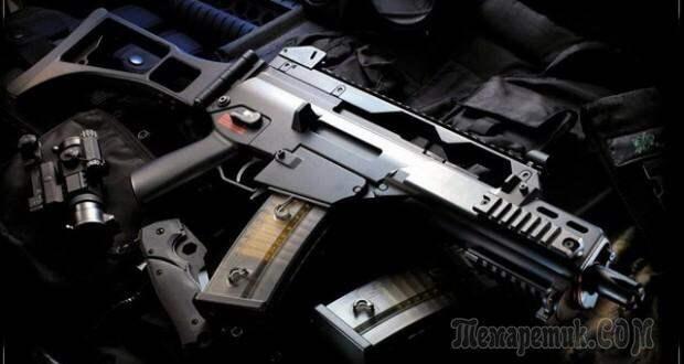 Страйкбольный автомат G36 — описание технических характеристики оружия