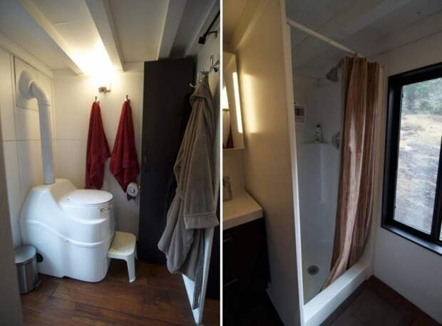 Бегство из ипотечного рабства: пара променяла шикарный особняк на крошечный дом-мечту