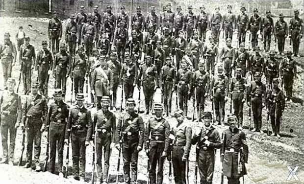 Американские солдаты