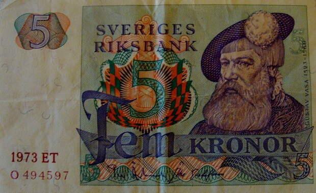 Густав Ваза на шведской банкноте - Шведская «Игра Престолов»: да здравствует король! | Warspot.ru