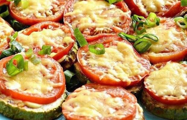Отменные овощные горячие бутерброды