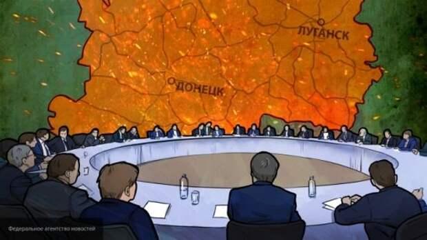 Политолог Лазарев указал, почему Киев хочет заморозить конфликт в Донбассе