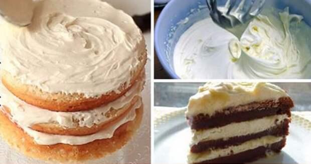 Самые вкусные домашние кремы для тортов