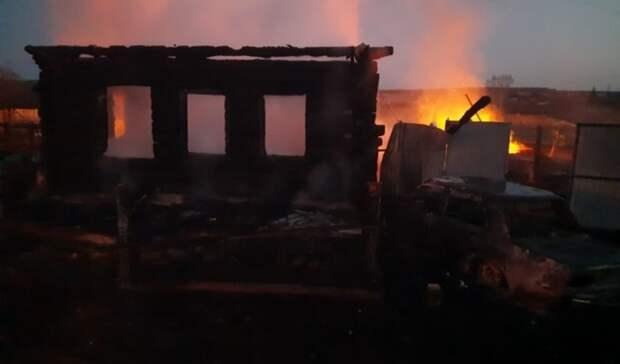 Пожар спятью погибшими детьми под Нижним Тагилом. Что известно наданный момент